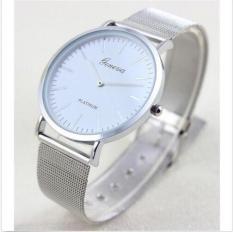 HOT Geneva Women's Fashion Watch Stainless Steel Band Analog Quartz Wrist Watch - Intl