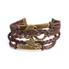 Hot Sale Punk Wind Retro Leather Bracelet Series Of Western Dragon-shaped Bracelet, Jewelry Wholesalers FSH228 - Intl