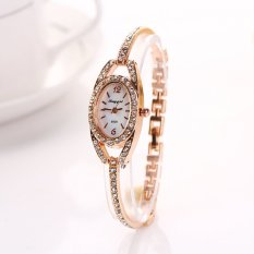 Hot Selling Casual Stainless Steel Wristwatch Women Fashion Reloj Watch (Intl)