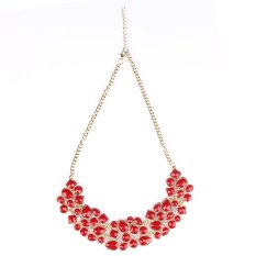 Hot Vintage Womens Geometric Joint Necklace Fashion Jewelry Metal Alloy Chain Necklace Pendant