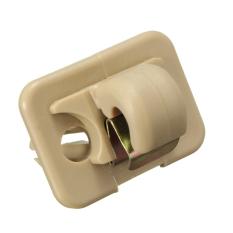 Inner Sun Visor Hook Clip For Audi A1 A3 A4 A5 Q3 Q5 8U0857562A8E0857562 US - Intl