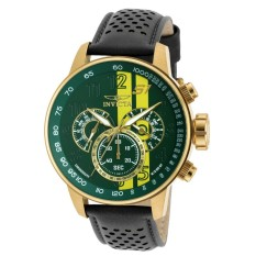 INVICTA S1 Rally Men Leather Strap Watch 19902