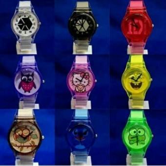 Jam Swatch Transparan