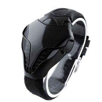 Cek Harga Baru Iron Samurai Jam Tangan Pria Black Red Steel Led Source · Jam Tangan Digital Cobra Iron Triangle Fashion LED intl
