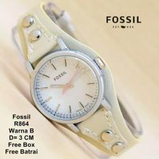 Jam Tangan Fashion wanita FSL Straf kulit