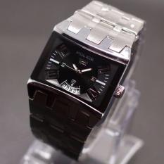 Jam tangan pria Fashion Police PL14581 - Tanggal Aktif - Stainless steel