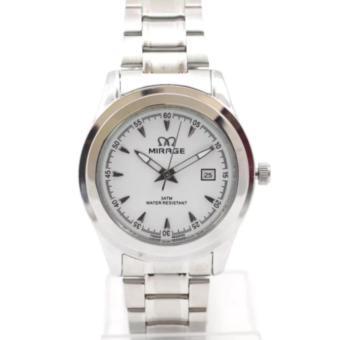 Jam tangan Pria Original MIRAGE-Strap Rantai