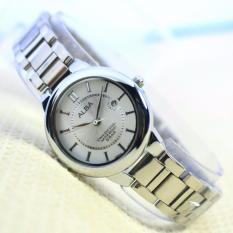 Jam Tangan Wanita Alba Fashion Formal / Kasual Stainless Steel Strap For Woman