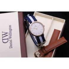 Jam Tangan Wanita DW Dapper Sheffield 38MM Men Genuine Leather Watch