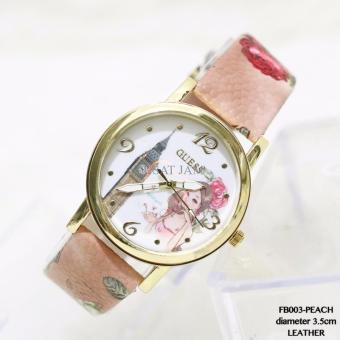 Harga jam tangan wanita import grosir guess fashion leather terlaris ... 4b70927ae8