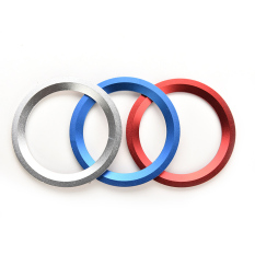 Jetting Buy Car Steering Wheel Center Ring Cover Decoration For BMW Silver