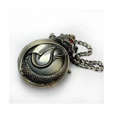 Jiaxiang Genuine Classic Retro Bronze / Gold Pocket Watch Flip Xiao Long Mechanical Watch Gift Watch Men Watch