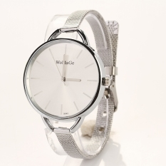 Jo.In Gold Silver Quartz Lady Women Wrist Watch (Silver)