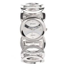 Jo.In Lady Women's Alloy Stainless Steel Quartz Bracelet Wristwatch (Silver) - Intl