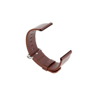 JOR Leather Watchband Wrist Strap Replacement for Apple iWatch 38mm (Brown) - Intl