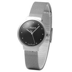 Julius JA - 426 Female Quartz Watch Ultrathin Stainless Steel Mesh Band SILVER (Intl)