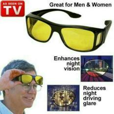 Kaca Mata HD Vision ( 1 box isi 2 )Anti Silau Kacamata siang dan malam