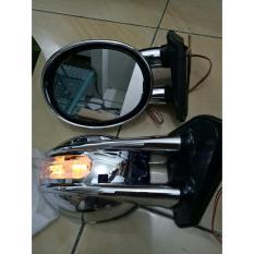 Kaca Spion Mobil Universal Croom Dengan Lampu Sen dan Lampu Kota