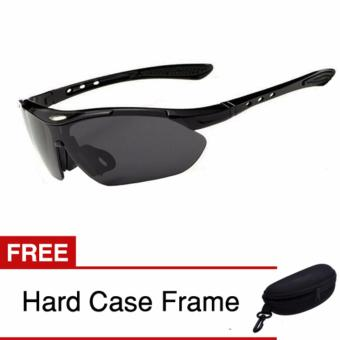 Kacamata Anti Silau / Riding Glasses - Special Touring - Black
