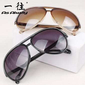 Kebugaran Jianyue transparan bingkai Pantai Cermin kotak besar kacamata hitam kacamata hitam
