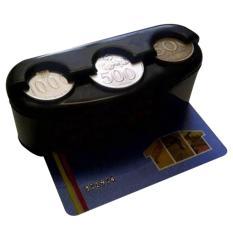 Kharisma Tempat Koin Kartu Mobil / Coin Card Car Holder
