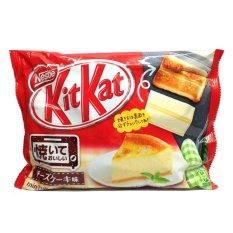 Kitkat CheeseCake Baked