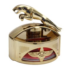 Klikoto Parfum Luxury Jaguar Gold - Pewangi / Pengharum / Hiasan / Pajangan Mobil / Meja / Lemari atau Ruangan