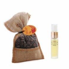 Klikoto Parfum Mobil Otentik Coffee + Refill Aroma Hazelnut