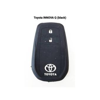 Kondom Silikon Remote Kunci Toyota All New Innova Type Q (Black)