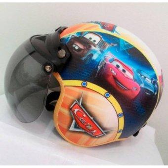 Free Masker Mulut Toserba Helm Anak Lucu Usia 1 4 Tahun Karakter Spiderman Hitam Biru.