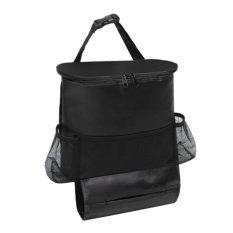 Lanjarjaya Car Seat Organizer Holder Travel Storage cooling Hanging Bag - Black