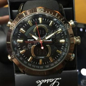 Lasebo - Dual Time - Jam Tangan Sport Pria - Rubber Strap - LSB947413