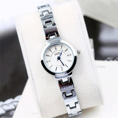 LBW GEDI Simple Diamond Dial Lady Lady Bracelet Watch(white)