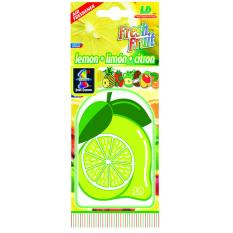 LD paper fresh fruit-Lemon pengharum mobil