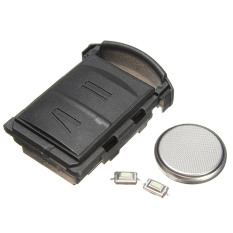 LeadSea 2 Button Remote Key Fob Case DIY Repair Kit For Vauxhall OpelCorsa Combo Van