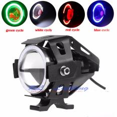 Led Lampu Sorot Cree Transformer U7 Angel eye + Demon eye