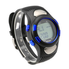 Linemart Fitness 3D Sport Exercise Watch Pulse Heart Rate Monitor and Pedometer Calories Counter (Intl)
