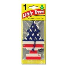 Little Trees Car Freshner - Pengharum Mobil Rasa Vanilla Pride - Bendera Amerika