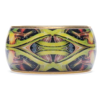LZD CHUNKY BANGLE - Gold