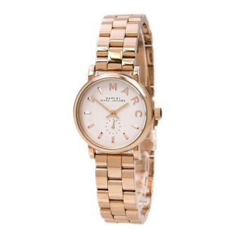 Marc Jacobs Women's Gold Stainless Steel Strap Watch MBM3248