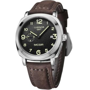 Matte Leather Men Luxury Military Quartz Tag Mens Watches Top Brand Luxury Fashion Relogio Masculino Relojes Mujer Watch - intl