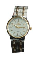 Mirage - Jam Tangan Wanita - Silver List Gold - Stainless - Mg411Sg