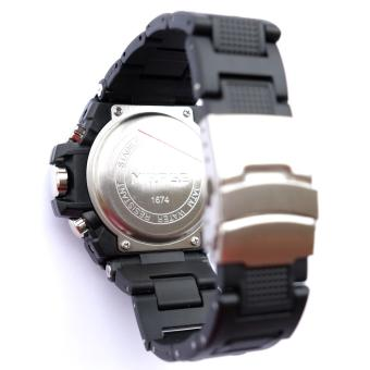 Mirage Men Sport Watch Dual Time 1674