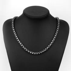N061 Titanium Fashion Chain Free 316L Stainless Steel Vintage Pendant Necklace (Intl)