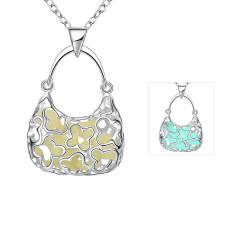 N066-B 2016 Fashion Popular Noctilucent Necklace