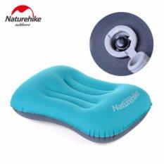 NatureHike Outdoor inflatable pillow sleep pillow portable travel pillow aircraft pillow - intl