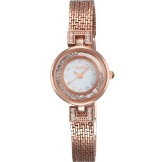 NAVIFORCE Fashion Women Luxury Casual Alloy Watch Brand Diamond Wristwatches Gold TL030-01 (Intl)