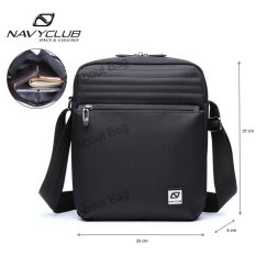 Navy Club Tas Selempang Tablet Ipad Tahan Air 65551 - Hitam