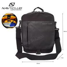 Navy Club Tas Selempang Tablet Ipad Up to 10 Inch 8270 - Hitam