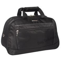 Navy Club travel bag - duffle bag - Tas pakaian multi fungsi (Tas jinjing Dan Tas Selempang) 7055 M - Hitam
